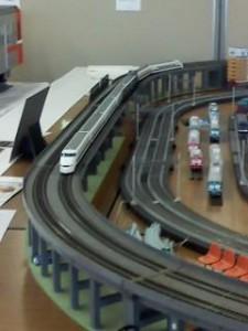 新富士駅(鉄道模型)1