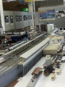 新富士駅(鉄道模型)2